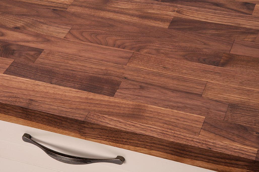 Küchenarbeitsplatte Nussbaum