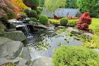 Water Feature Landscaping Designs   Arbor Hills Trees ...