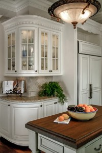 Above Cabinets Dcor   Kitchen Design