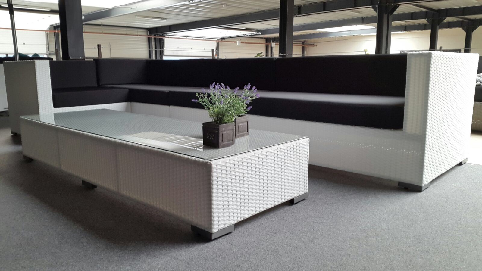 Lounge Bank Tuin : Loungeset tuin wit bank tuin great loungeset lounche bank terras