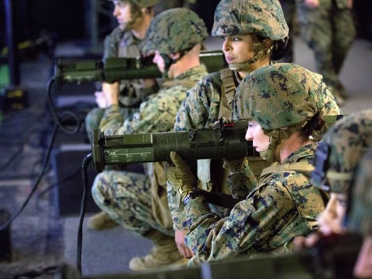 All combat jobs now open to qualified female Marines