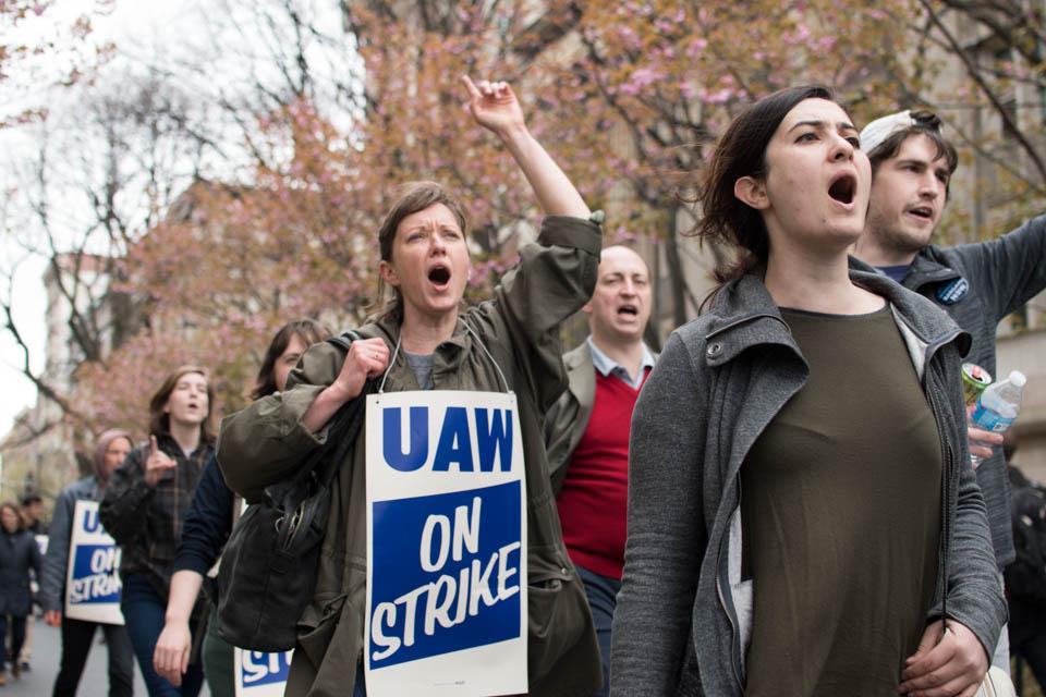 Graduate student strike ends on schedule, union organizers threaten