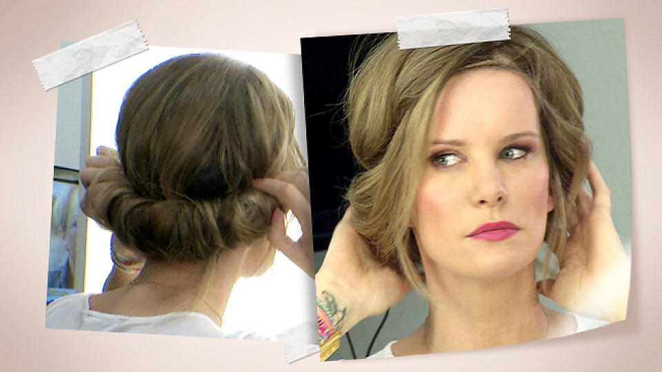 Hippie Frisur Hippie-frisur Zum Eindrehen: Video-tutorial Mit Monica Ivancan