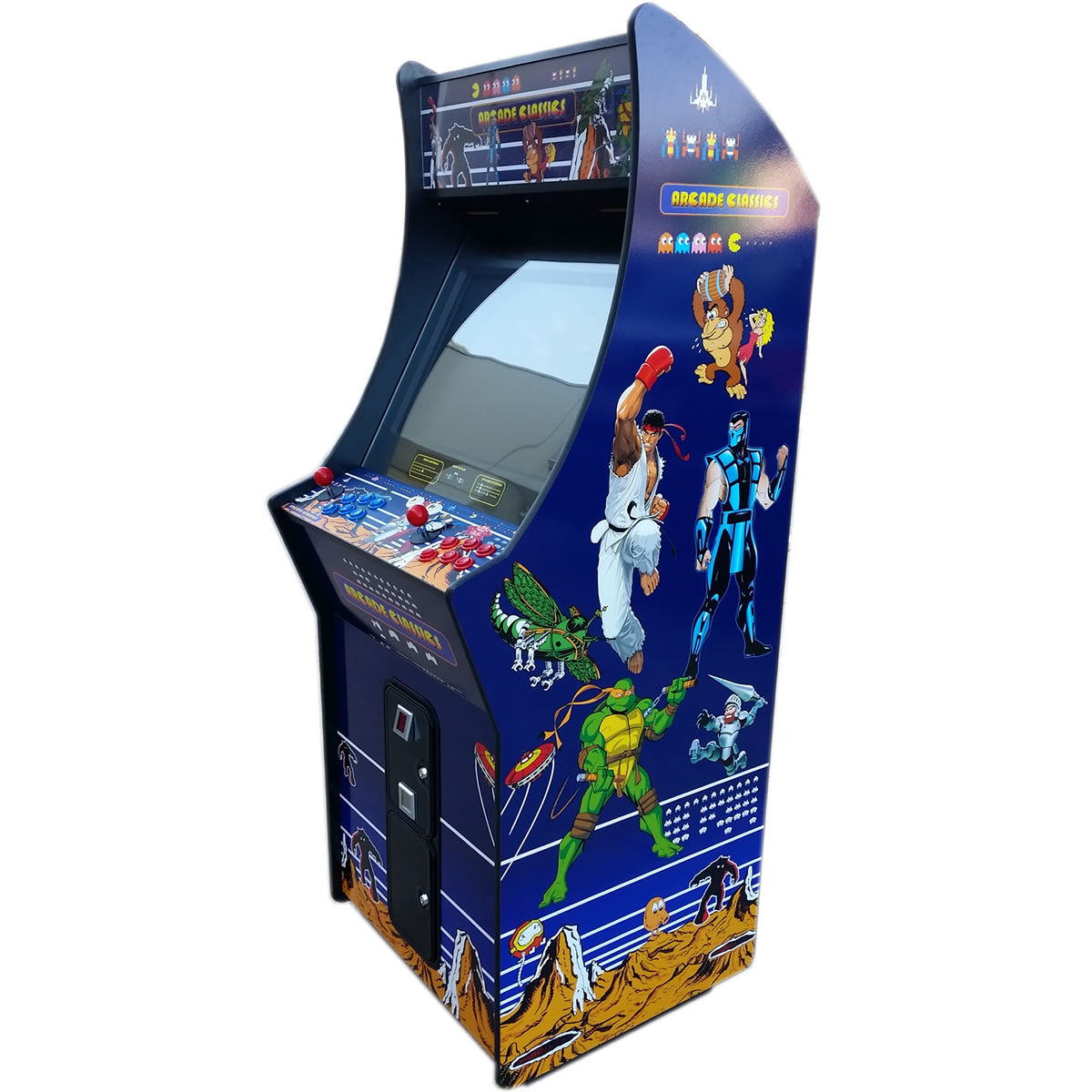 Classic Table Arcade Games Arcade Classics Arcade Games And Pinball Sales And Restoration