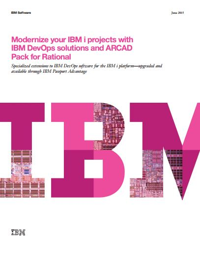 IBM Brochure Modernize your IBM i projects with Rational Software