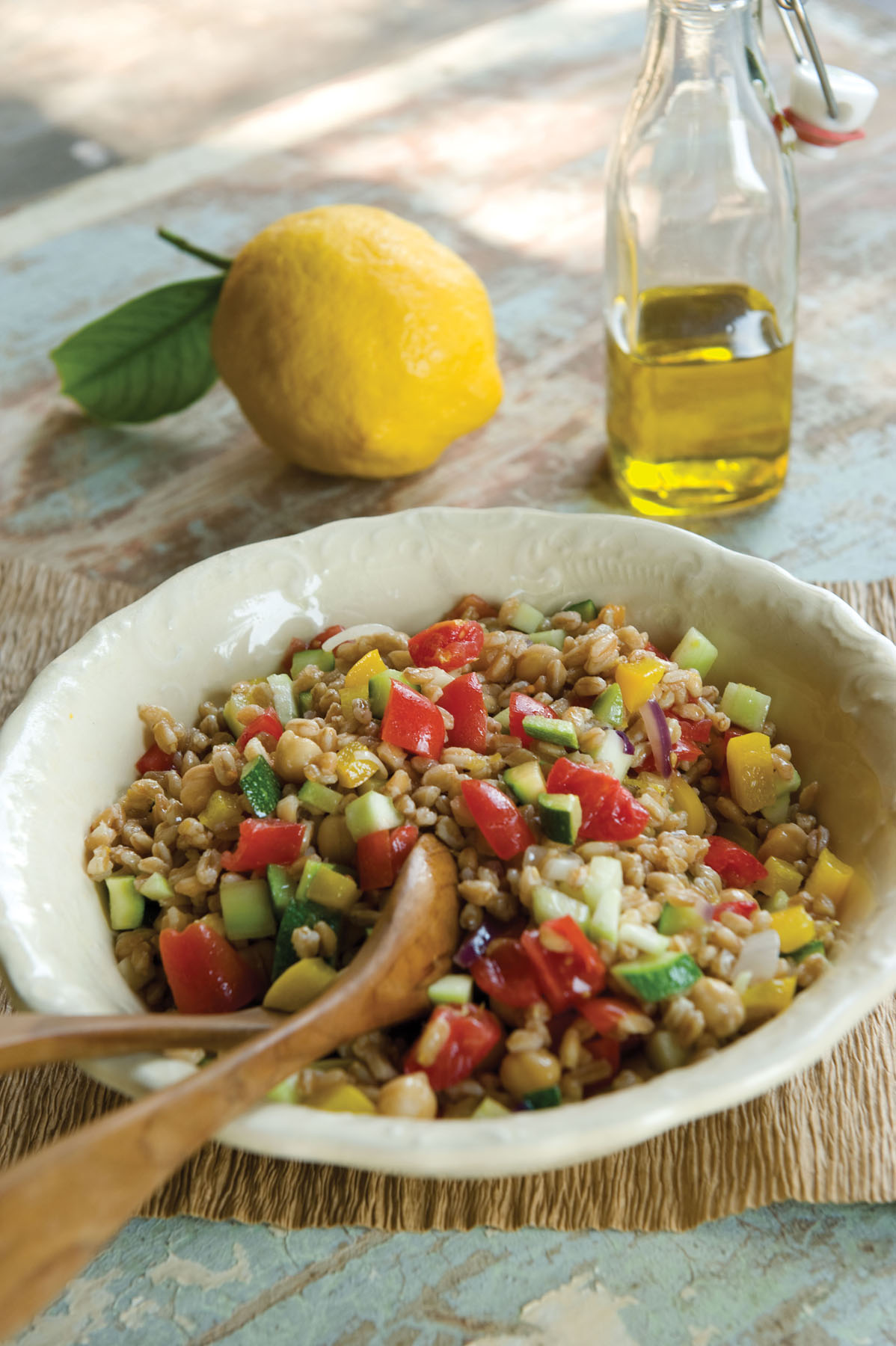 Cucina Povera Salad Seriously Simple Farro Salad An Ancient Grain Is New Again