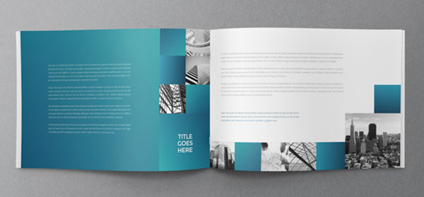 Architecture Squares Brochure Design ARCH-student - architecture brochure template