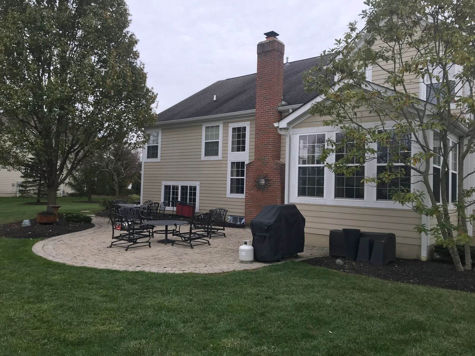 Breathtaking Backyard Patio Upgrade In Dublin Oh Archadeck Of Columbus