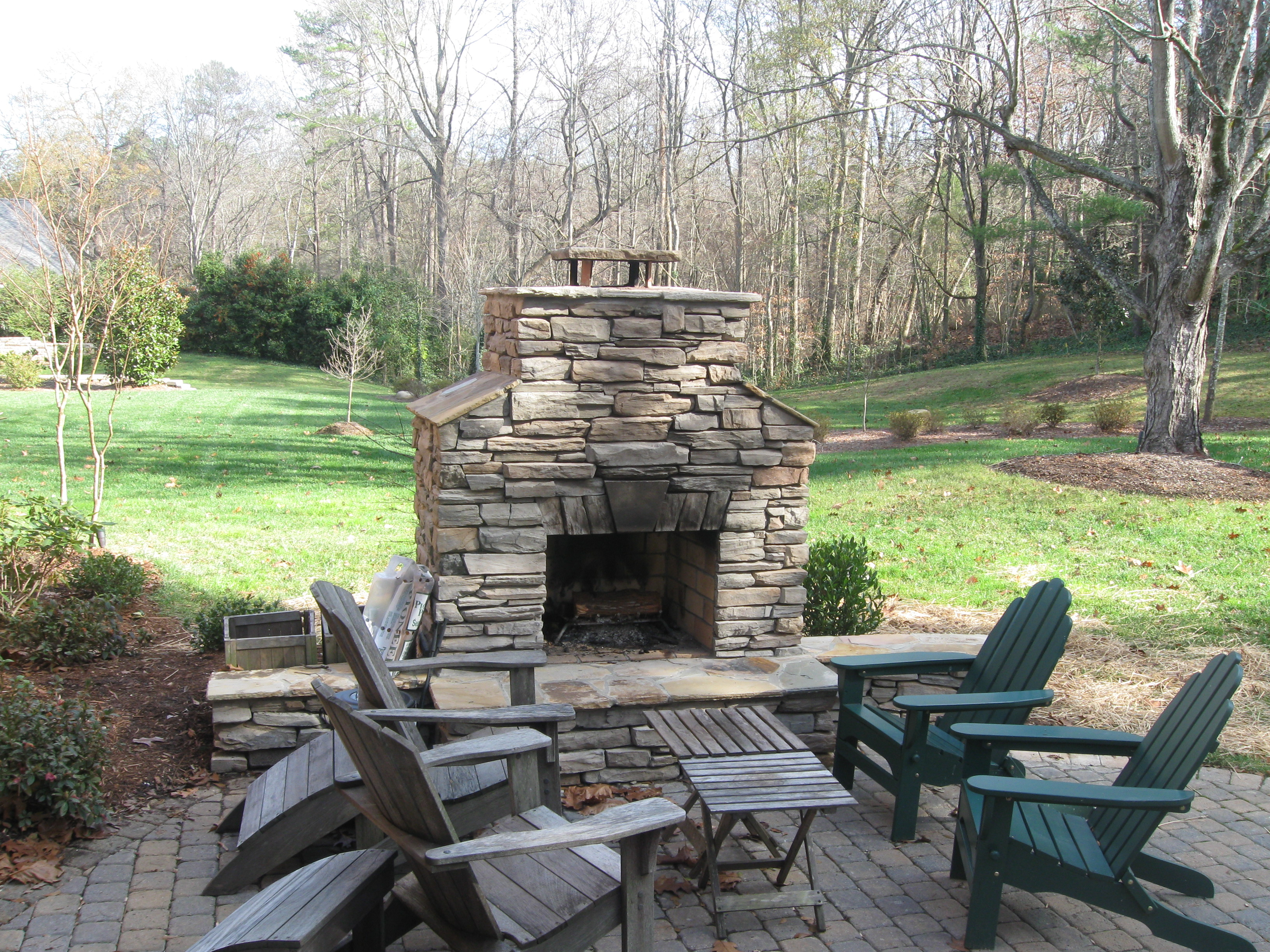 Fireplace And Patio Outdoor Firepit Archadeck Of Charlotte