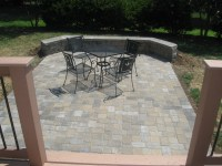 Deck and patio together? In Charlotte we do it all the ...