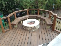 Can you place a fire pit on a deck? | Archadeck of Charlotte