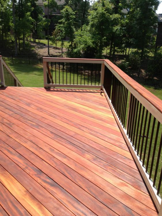 Ipe Brazilian Hardwood Columbus Decks Porches And