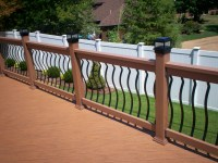 types of deck railing | St. Louis decks, screened porches ...