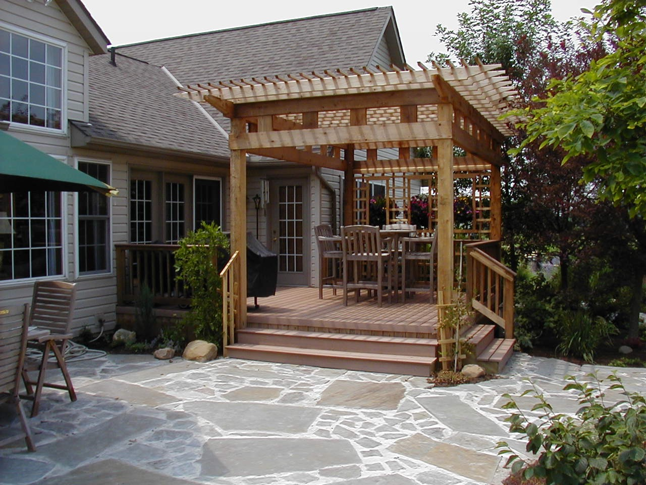 Small Pergola How To Add Backyard Shade By Archadeck St Louis Decks