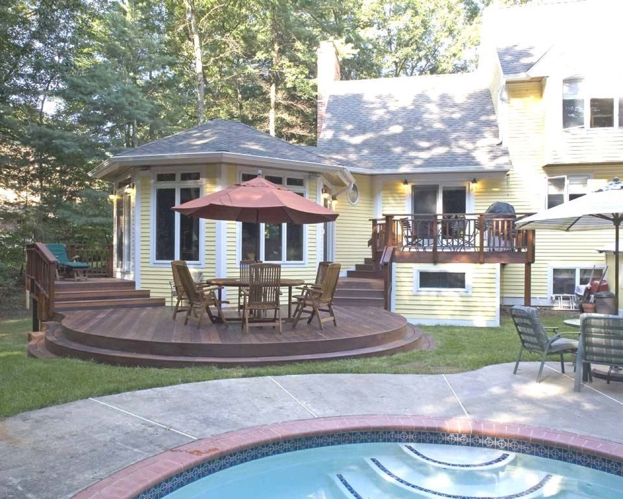 Deck, Pergola, and Porch Designs for Pools