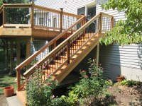 Deck Stairs Ideas: How To Choose The Best Stair Design For ...