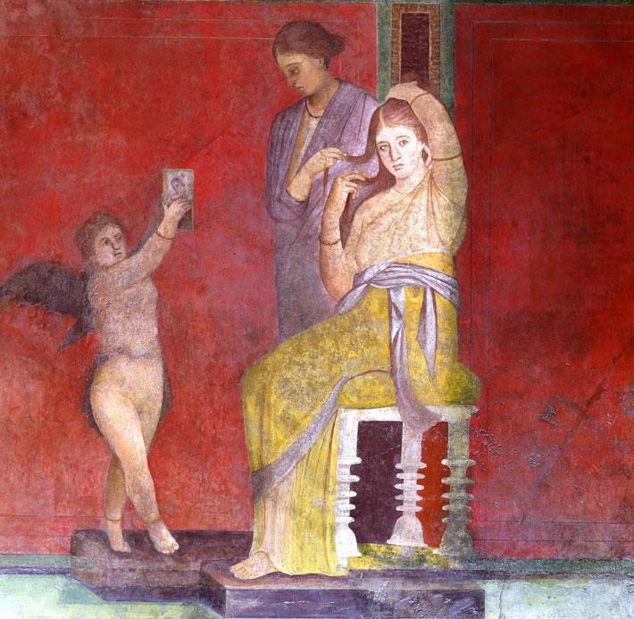 Pintura Pompeyana Pompeii's Villa Of The Mysteries Restored - Archaeology