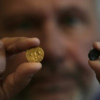 Archaeologist Discovers Gold Coin of Byzantine Emperor Basil II the Bulgar-Slayer in Bulgaria's Perperikon