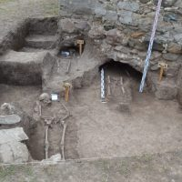 Archaeologists Discover Grave of Medieval Bulgarian Princess 'Built Into' Foundations of Stone Church near Botevgrad