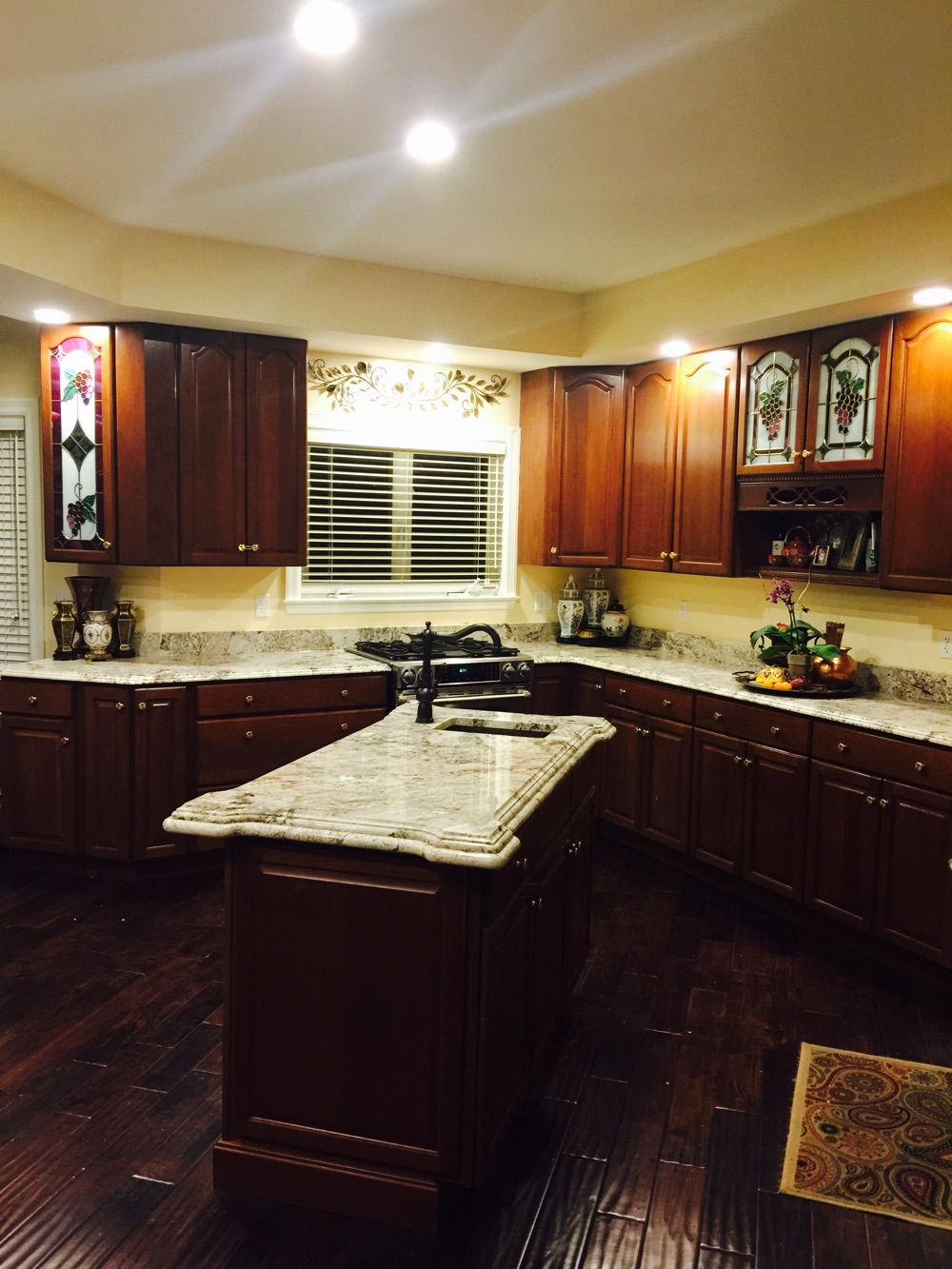 Installing A Countertop Installing Granite Or Cabinet Refacing Which Comes First