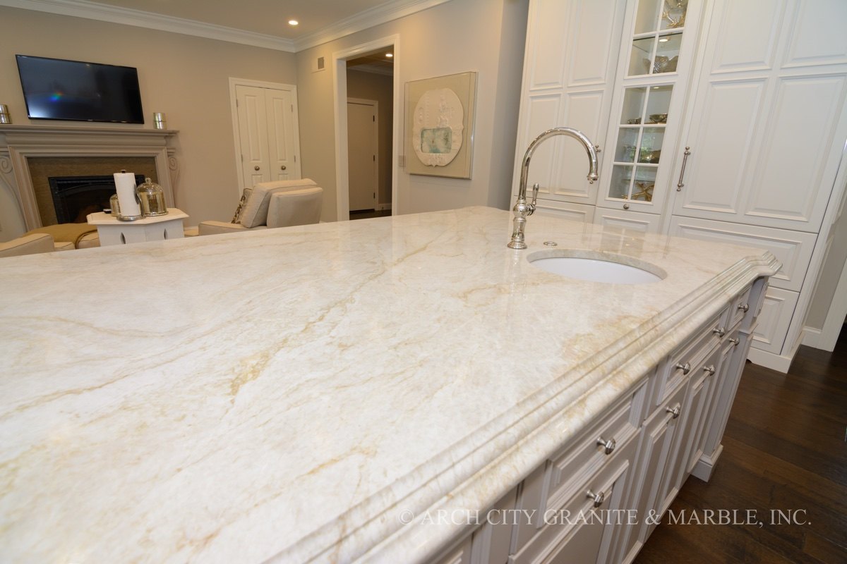 Taupe Quartz Countertop Taj Mahal Quartzite An Elegant Natural Stone From Brazil