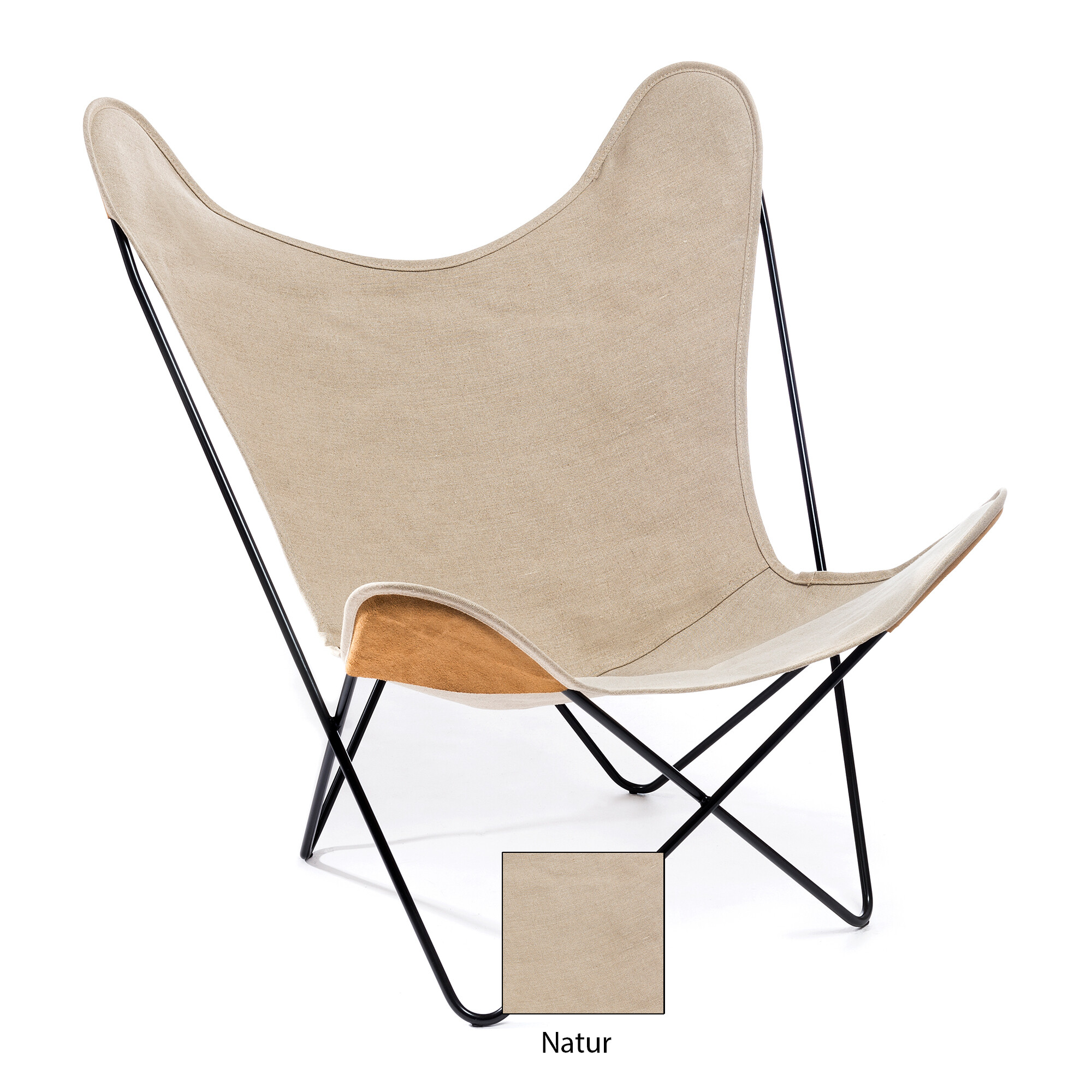 Hardoy Butterfly Chair Leinen By Manufakturplus Media Photos And Videos 5 Archello