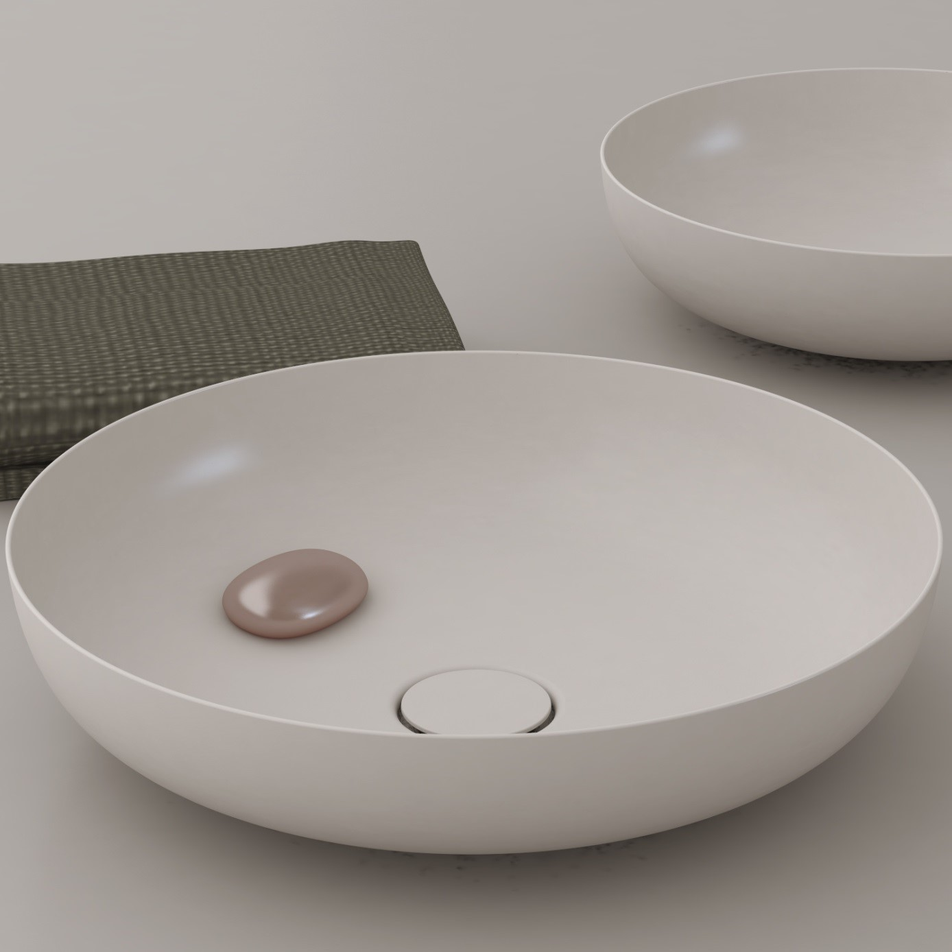 Duschtasse Conoflat Miena Washbasin With Coordinated Colours By Kaldewei Archello
