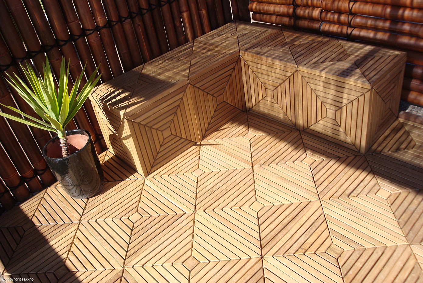 Outdoor Timber Tiles Decking Outdoor Area Timber Floor Pool Deck S By Sakkho