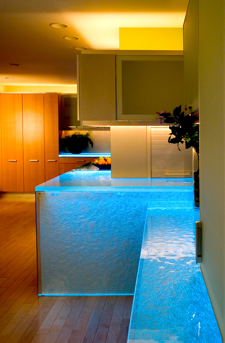 Think Glass Countertops Amazing Thermoformed Glass Countertops By Thinkglass Inc