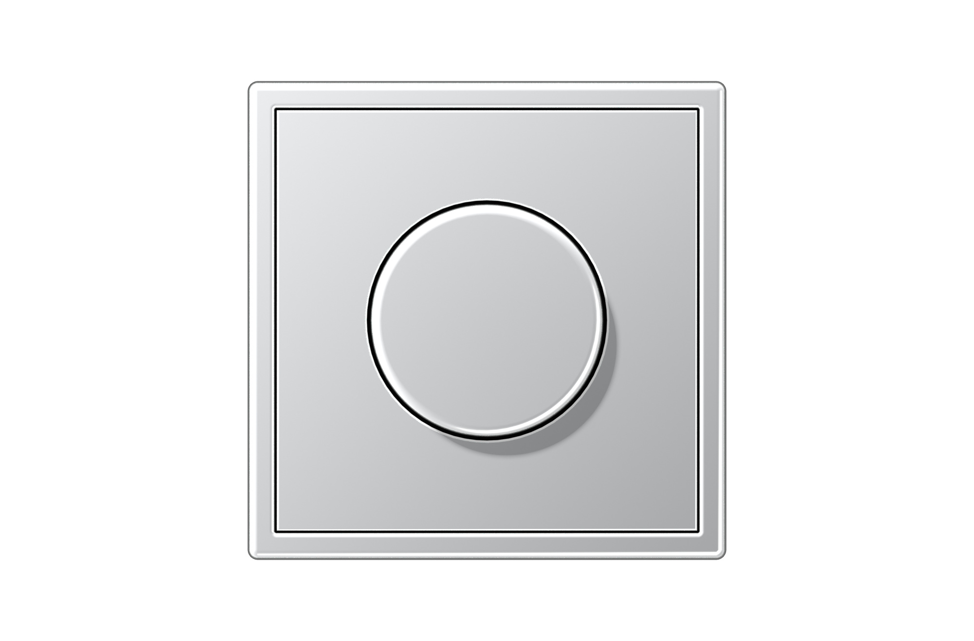 Jung Ls 990 Ls 990 Rotary Dimmer In Aluminium By Jung Archello