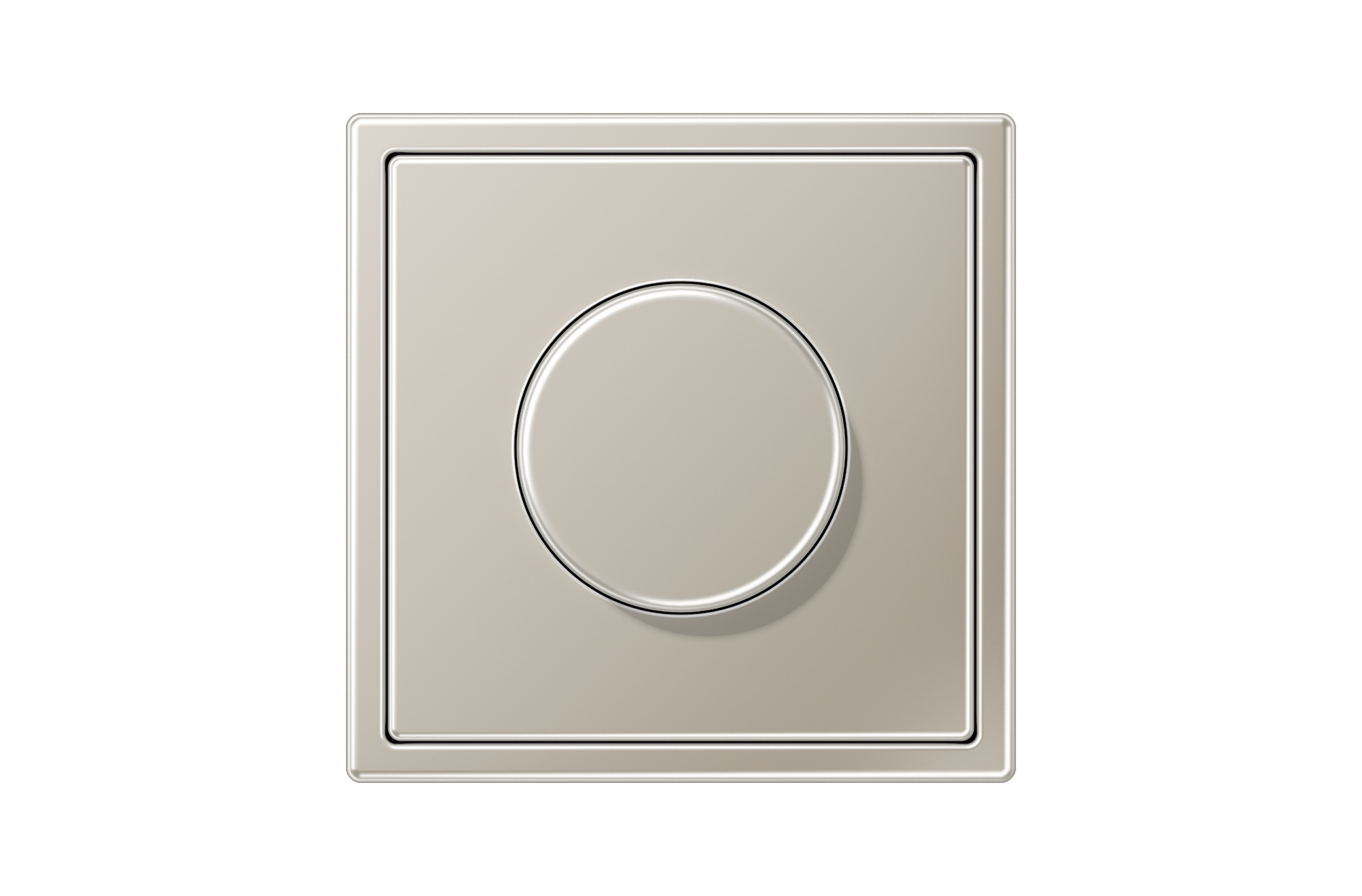 Jung Ls 990 Ls 990 Rotary Dimmer In Stainless Steel By Jung Archello