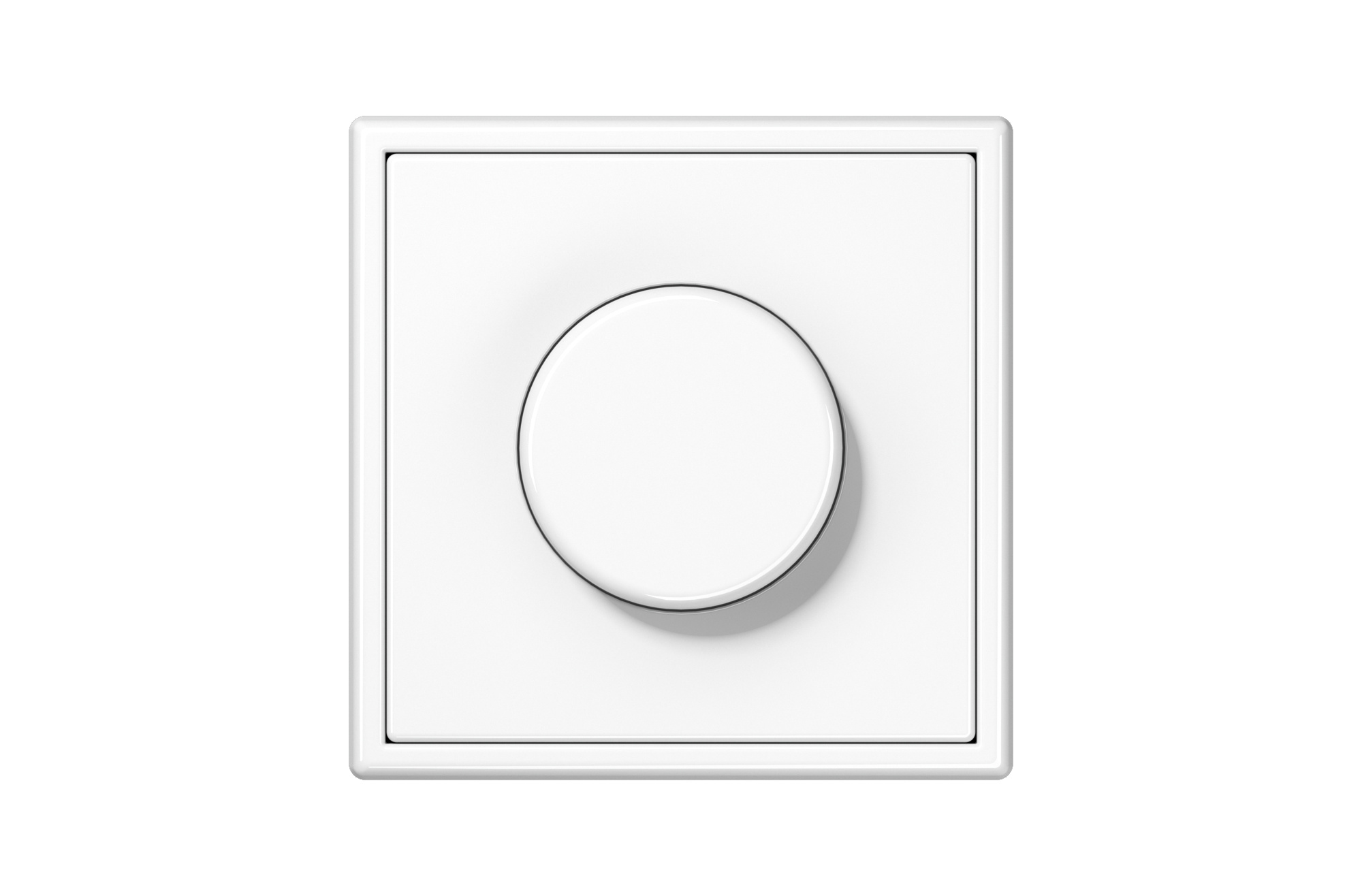 Jung Ls 990 Ls 990 Rotary Dimmer In White By Jung Archello