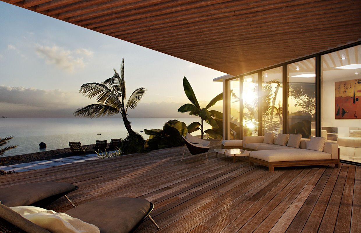 Modern Small Beach House Interior Novocom Top