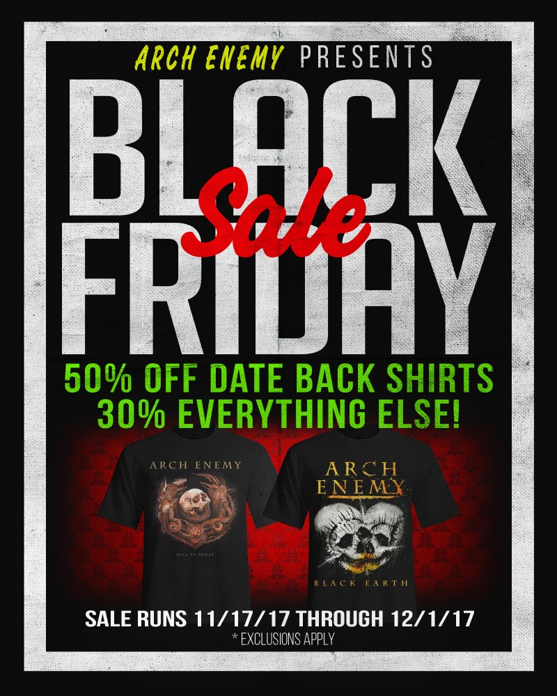 Black Friday Stuttgart News Arch Enemy