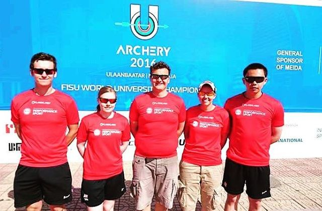 Five of our TPP from edinburghuniversity at wucarchery2016 archerygb euac