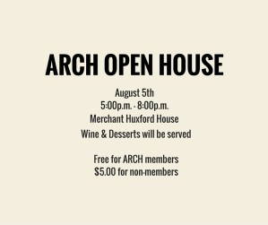 ARCH Open House