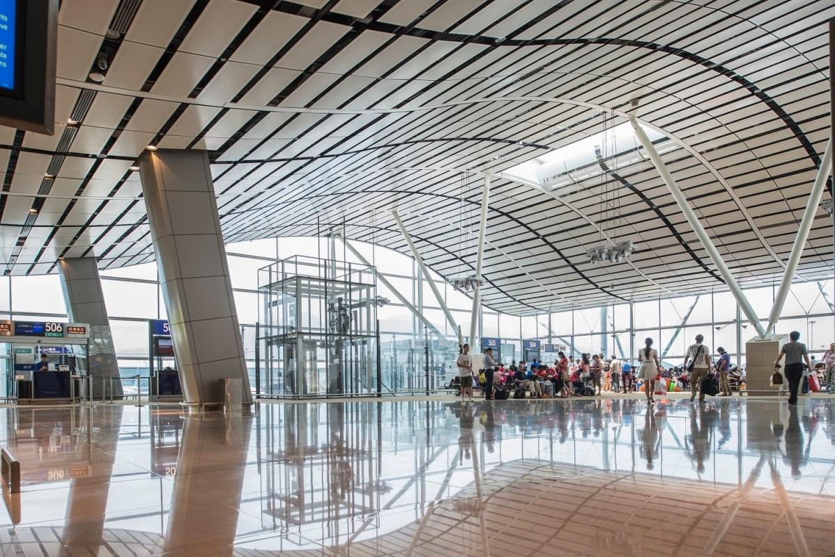 North Satellite Concourse © Aedas