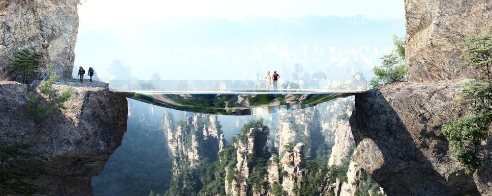 Les passerelles de Zhangjiajie