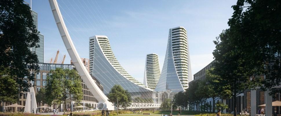 Knight Dragon dévoile le projet conçu par Calatrava