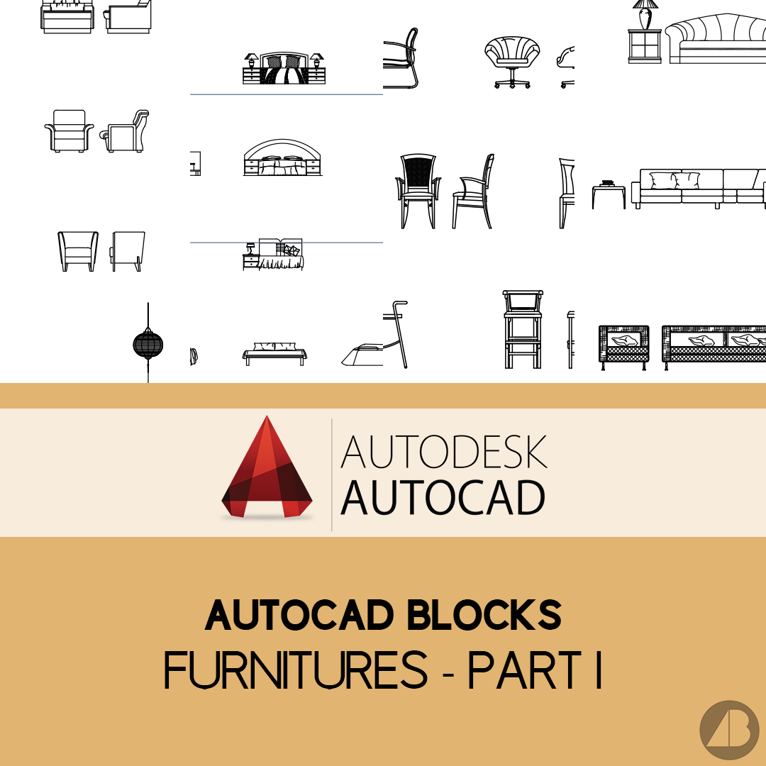 Autocad Blocks Autocad Blocks Furniture Part 1 Archi Base