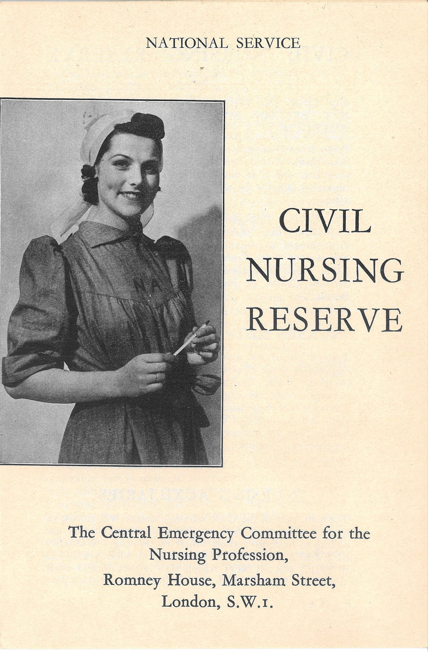 You Can Join Too Recruitment For The Civil Nursing Reserve Ceredigion Archives