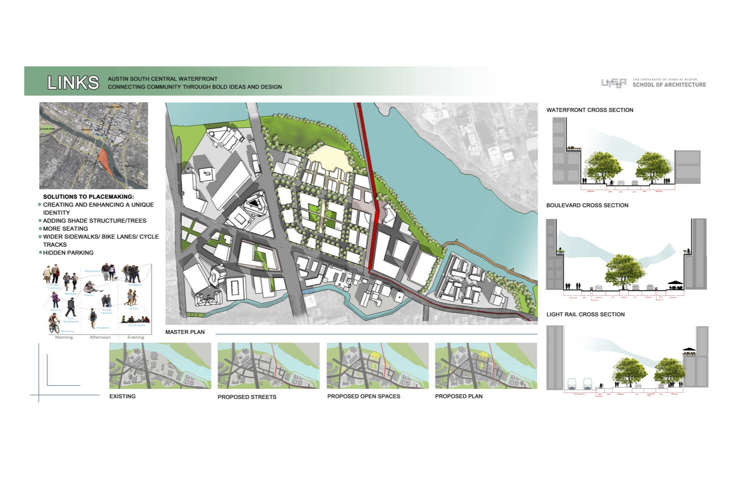 Austin Architecture Firms School Project: Urban Design For The Austin South Central
