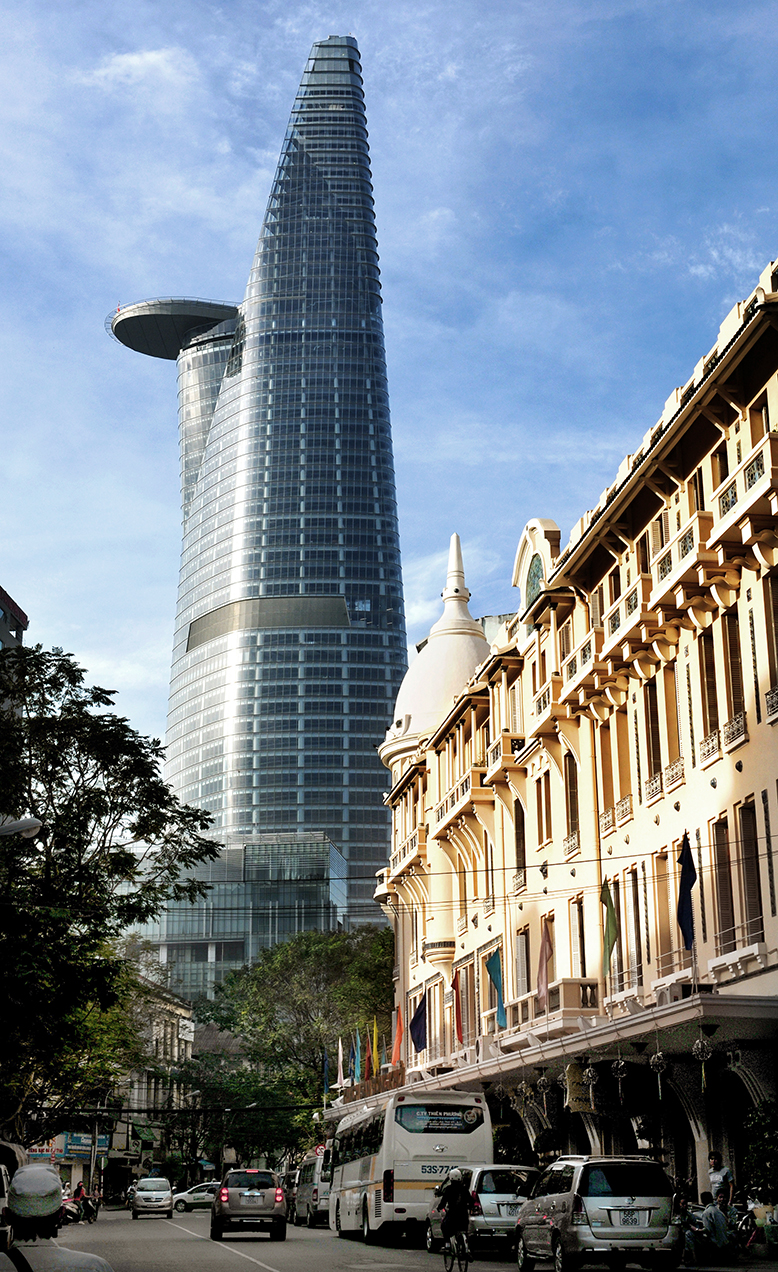 Zapata Mode Bitexco Financial Tower | Carlos Zapata Studio | Archinect