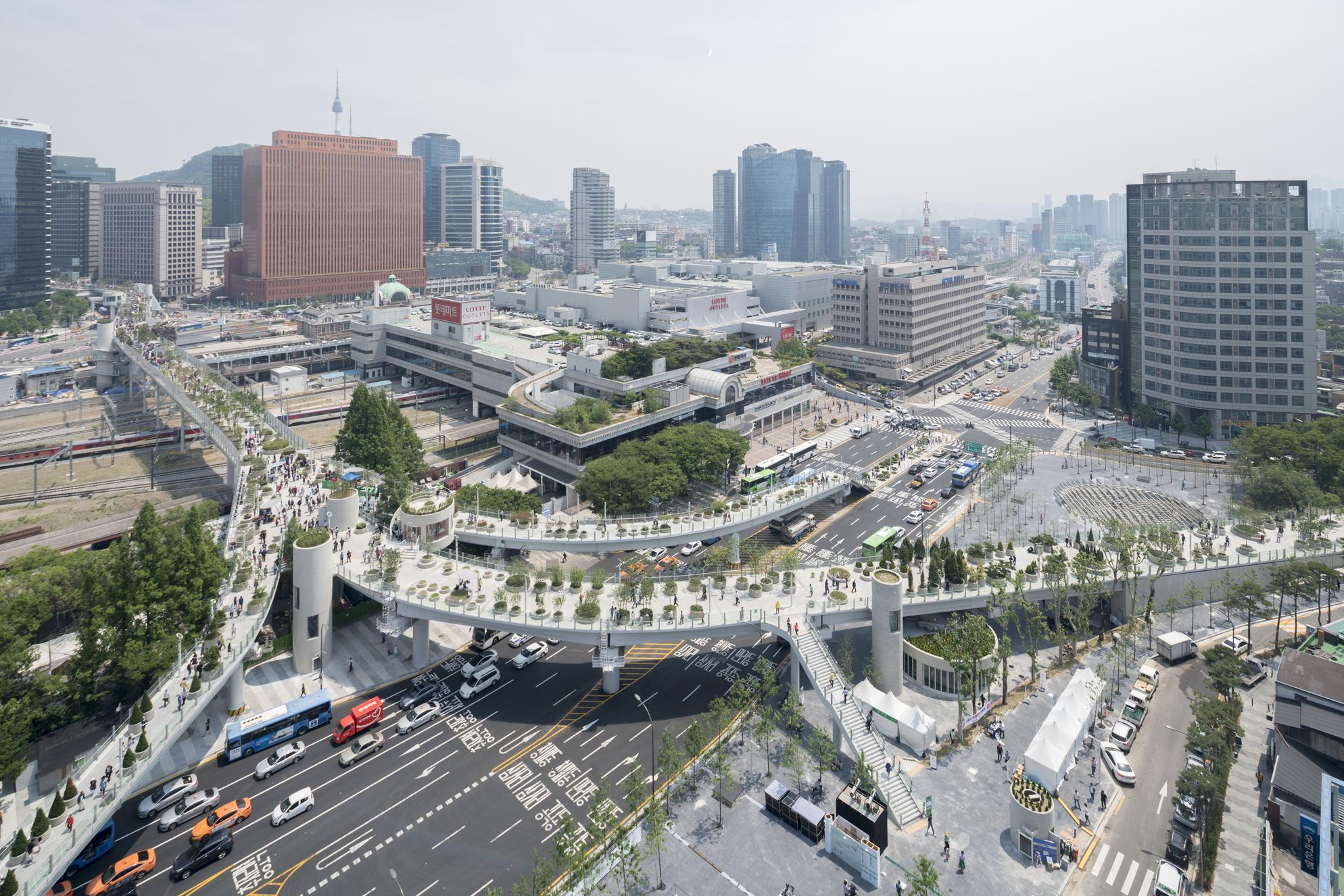 Korea39s High Line The Mvrdv Designed Skygarden Opens In