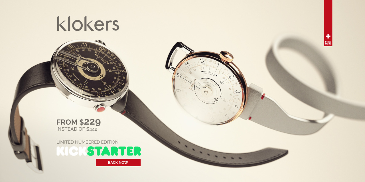 New York Klok Klokers Is Again On Kickstarter With Its New Watch Klok 80