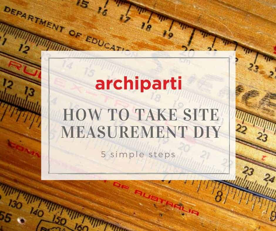 'How to take site measurements DIY - 5 Simple Steps'