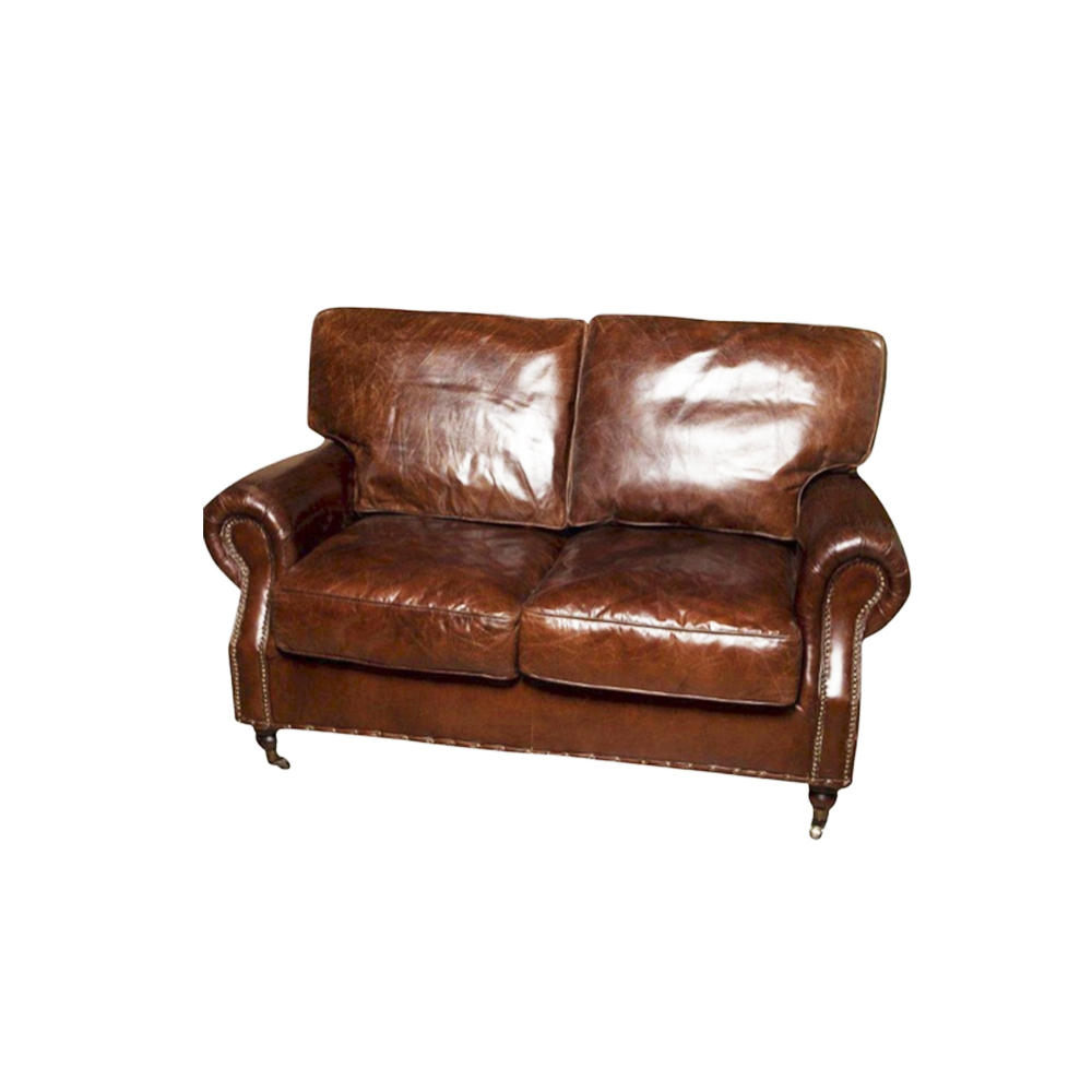 Aged Italian Leather Kensington 2 Seater Sofas And Armchairs Nz Archipro