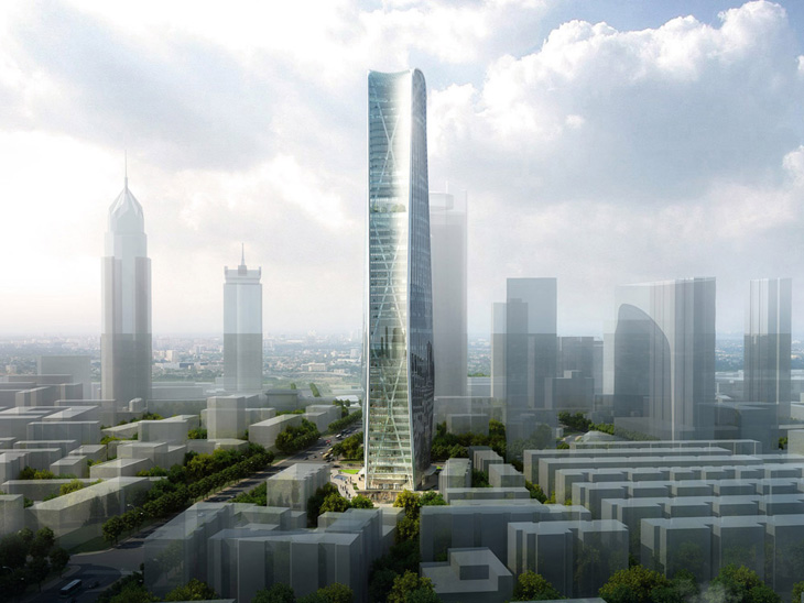 Urban Elements Sofa Henn Wins Competition For Cenke Tower In Taiyuan