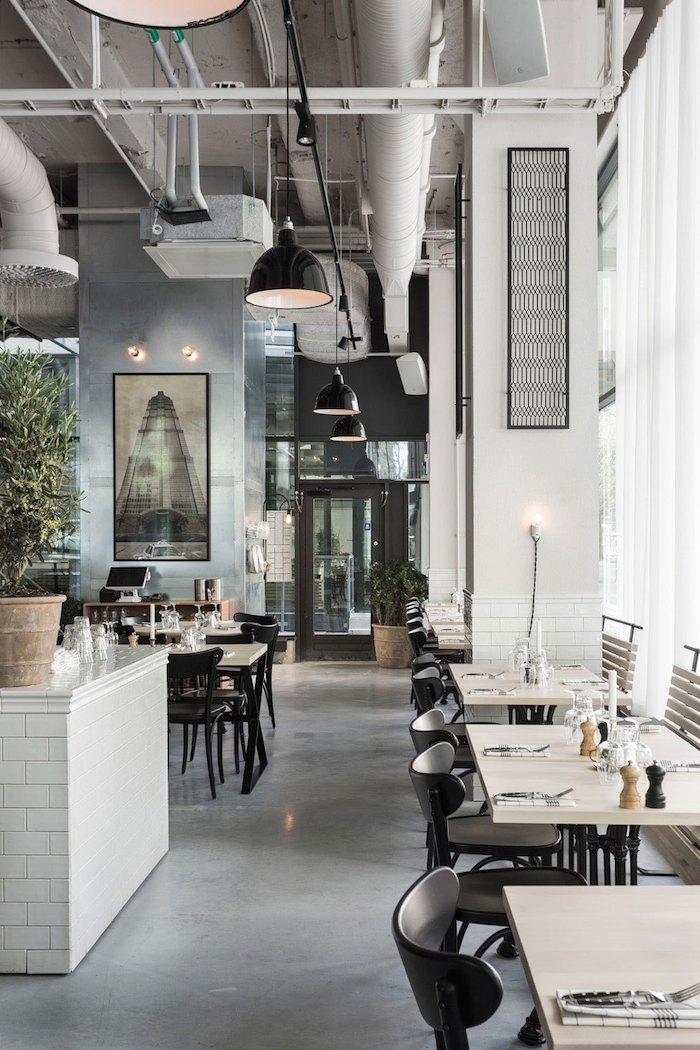 Restaurant Design Usine Restaurant Interior By Richard Lindvall - Archiscene
