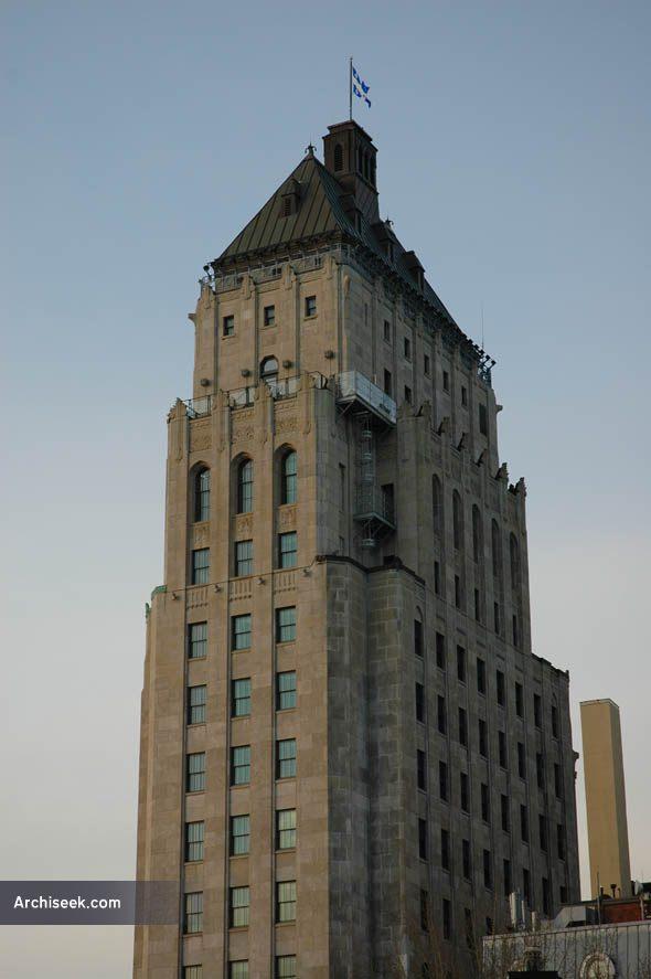 1930 price building quebec city quebec architecture for Architecture quebec